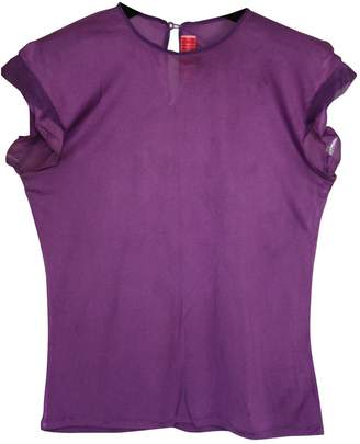 Roksanda Ilincic Purple Silk Top for Women