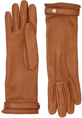 Burberry Silk-lined Lambskin Gloves