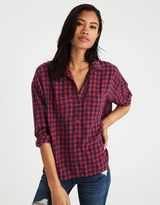 American Eagle Outfitters AE Ahh-Mazingly Soft Flannel Popover