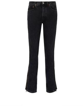 Vetements 'Stripper' zupper outseam jeans