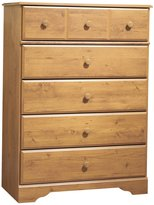 Green Baby South Shore Little Treasures Collection 5-Drawer Chest - Country Pine