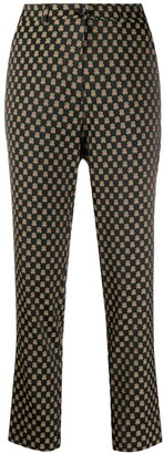 Etro High-Waisted Cropped Trousers