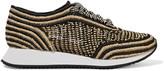 Loeffler Randall Roxie raffia sneakers