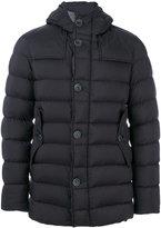 Herno hooded padded jacket - men - Polyamide/Polyurethane/Wool/Goose Down - 46