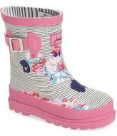 Joules Toddler Girl's Print Waterproof Rain Boot