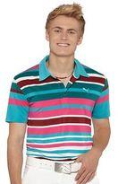 Puma Roadmap Stripe Golf Polo Shirt