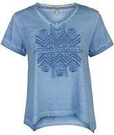 Soul Cal SoulCal Womens Oversized T Shirt Tee Top Print Short Sleeve V Neck Summer