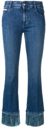 Stella McCartney fringed jeans
