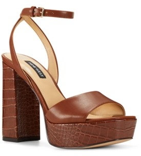Nine West Women's Zenna Platform Dress Sandals Women's Shoes