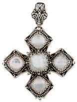 Konstantino Quartz Doublet Byzantine Cross Pendant