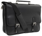 "Kenneth Cole Reaction A Brief History"" - 5"" Double Gusset Flapover Portfolio"