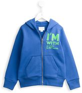 Diesel zipped up hoodie - kids - Cotton - 10 yrs