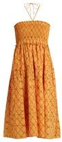 Apiece Apart Nueva Nambe smocked-cotton dress