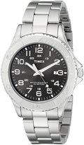 Timex Men's Dress T2P391 Stainless-Steel Analog Quartz Watch