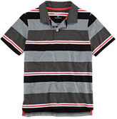 Arizona Striped Piqu Polo - Boys 8-20 and Husky