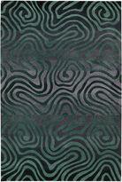 Nourison Fun Maze High-Low Carved Rectangular Rug