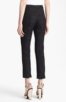 Erdem 'Sidney' Slim Tweed Trousers