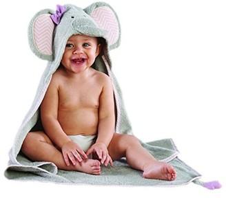 Baby Aspen Splish Splash Elephant Bath Spa Hooded Towel 0-6mo
