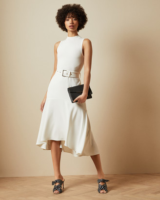 Ted Baker CORVALA Sleeveless midi dress
