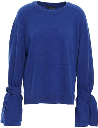 N.Peal Tie-detailed Cashmere Sweater