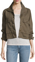 Romeo & Juliet Couture Swing-Back Jacket, Olive