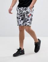 Nike Camo Print Shorts In White 831869-100