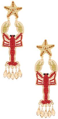 Mercedes Salazar Isla Lobster Earring