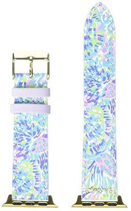 Lilly Pulitzer Apple Watch Band (Shell of a Party) Wallet