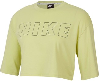 Nike NSW Air Crop Top - Limelight