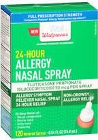 Walgreens 24-Hour Allergy Nasal Spray 120 Sprays