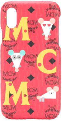 MCM logo Iphone XS cover