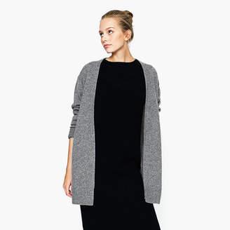 Lisa Yang LISA YANG - Alexa Grey Long Cashmere Cardigan - grey | medium - Grey/Grey