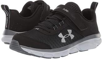 Under Armour Kids UA Assert 8 AC (Little Kid) (Black/Pitch Gray/Mod Gray) Kids Shoes