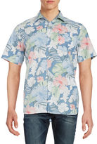 Black Brown 1826 Floral Sportshirt