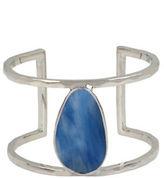 Kenneth Cole New York Semiprecious Stone Cut-Out Cuff Bracelet