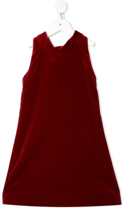 Oscar De La Renta Kids Velvet Bow Dress