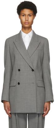 PARTOW Grey Wool Lennox Blazer