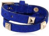 "Fallon Double Wrap Bracelet, 16.5"""