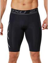 2XU Accelerate Compression Men's Shorts, Black/Silver