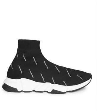 Balenciaga Speed Allover Logo Sneakers