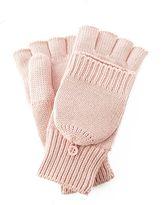 Preston & york fingerless flip-top mittens