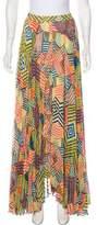Alice + Olivia Pleated Maxi Skirt w/ Tags