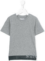 John Galliano logo print T-shirt - kids - Cotton - 4 yrs