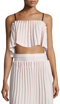 Opening Ceremony Lotte Cropped Bralette Top, Blush Pink