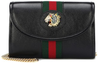 Gucci Rajah Mini leather shoulder bag