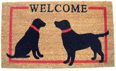 Asstd National Brand Dog Welcome Rectangular Doormat - 18X30