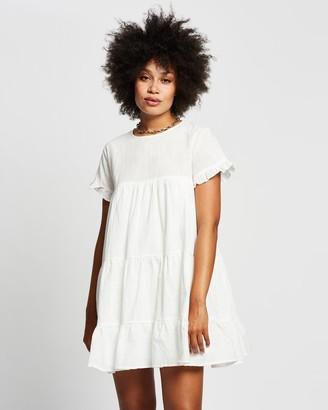 Reverse Milk Maid Dress