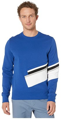 Michael Kors Pop Insert Sweatshirt (Twilight Blue) Men's Clothing