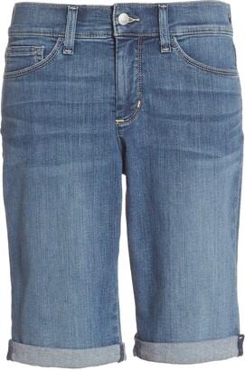 NYDJ Briella Roll Cuff Stretch Denim Shorts