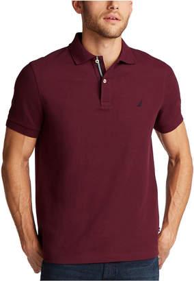 Nautica Men Slim-Fit Deck Solid Polo Shirt